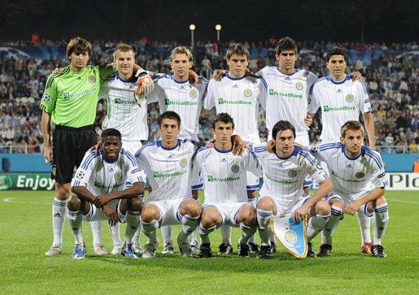 Меню для PES 2010 - Динамо Киев